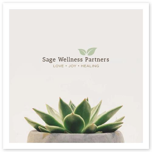 Sage Wellness Partners Brand Board