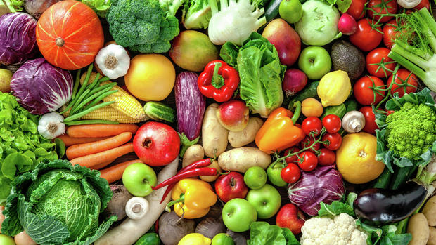 Eat a diet with 50% of your meal being vegetables.
