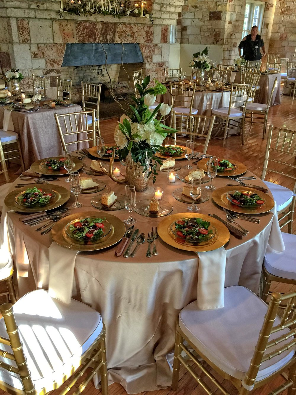 Table Chairs and Linen Rentals