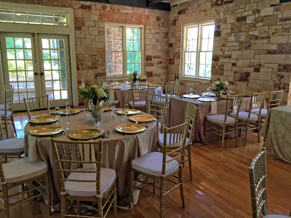 Reception Rentals Regel and Company