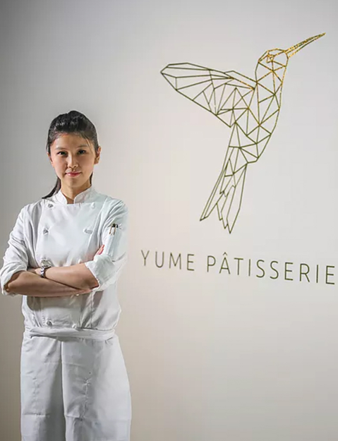 """""""It was only when I realized that I'd rather work for 14, even 15 hours everyday baking that I knew I had found my passion in life""""- Amber Seah, Yume Patisserie"""