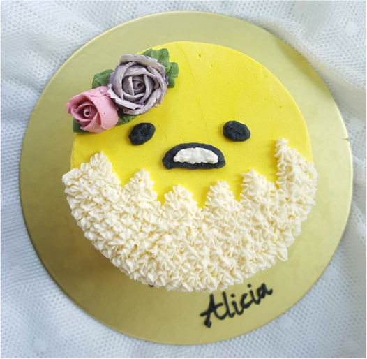 Gudetama Birthday Cake