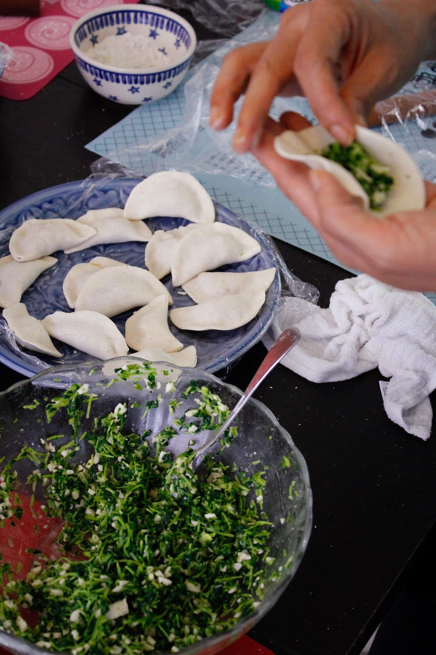 Learning to fold Chinese Dumplings