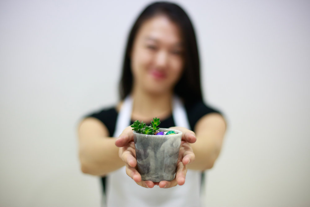 Hand-made Resin Cup