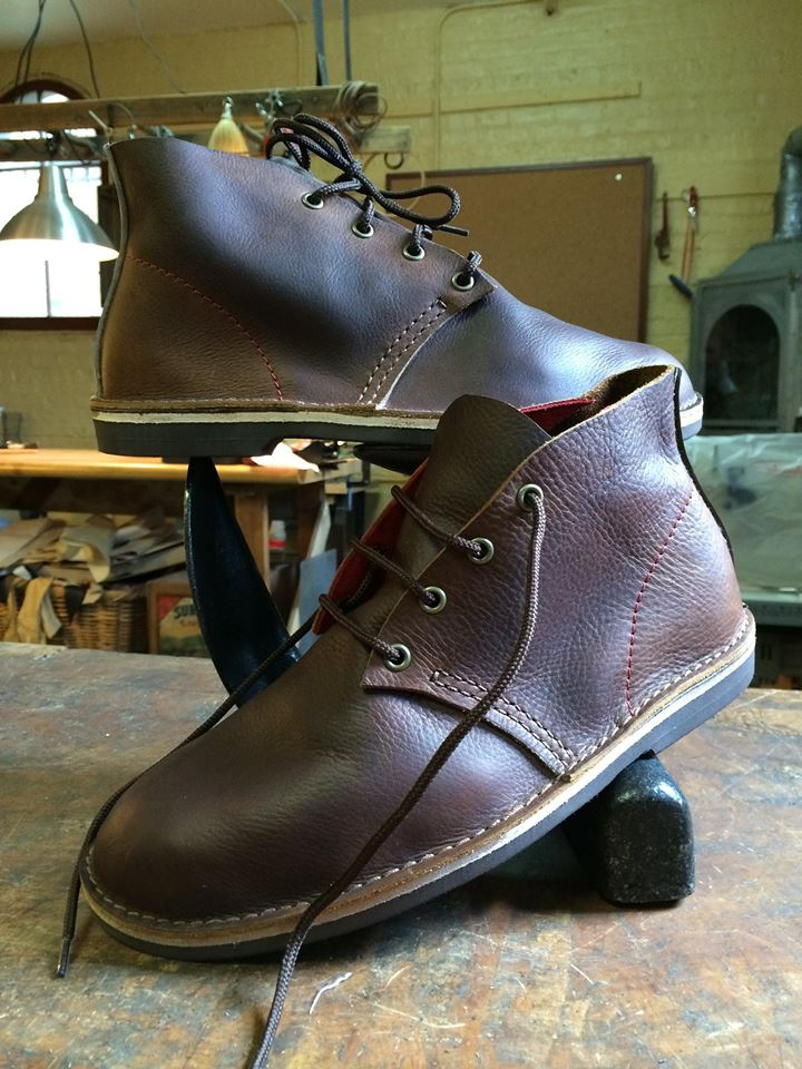 Leather Shoemaking Class