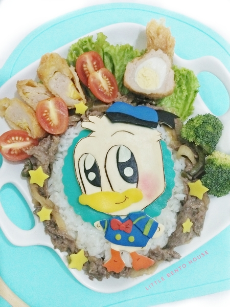 Bento Deco Art (Donald Duck)