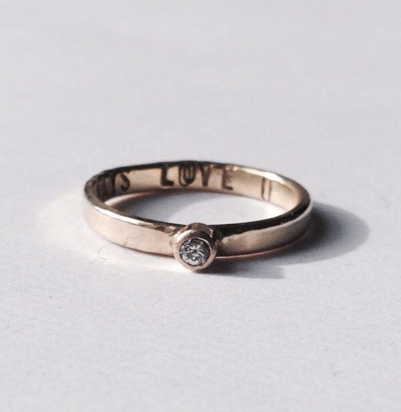 Learn to make this ring and more at one of her workshops in Manhattan!