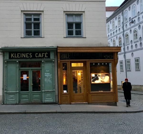 Sure, I had no idea where I was, but a cup of coffee and a slice of fresh bread in this Viennese café made it worthwhile.