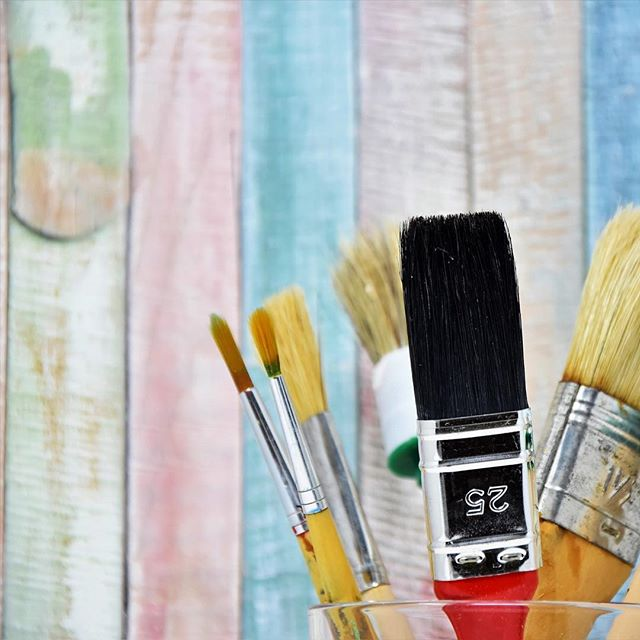 """""""If you are going to be an artist, you have to jump into it with both feet."""" Spoken like a true artist! Jump onto Verlocal's stories blog to read more about June Parker of Pipe and Palette. . . . . .  #texas #plano #artist #art #paint #paintings #pipeandpalette #creative #workshop #crafty #artsandcrafts #inthestudio #artistsoninstagram #artistry_vision #artistsofinstagram #local #localartist #colorful #colorfulart"""