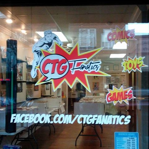CTG Fanatics - Owner Ralph Eagle Jr, his wife Cindy and their son Ralph III, opened CTG FANATICS in October of 2015 . They have an amazing collection of comic books ( old and new) , Toys, Video game systems (old and new), action figures, trading cards, POPS and more! They are also licensed to do MTG tournaments, Unrivaled Tournaments as well as Pokémon tournaments. They will have a booth set up at WillCon for you to be able to purchase some of their incredible items.Their actual store is located in Galax VA but a link to their Facebook page can be found in the comment section below. They accept MasterCard, Visa, and Paypal...and if you're wondering, yes, they do ship 😊. So check them out!