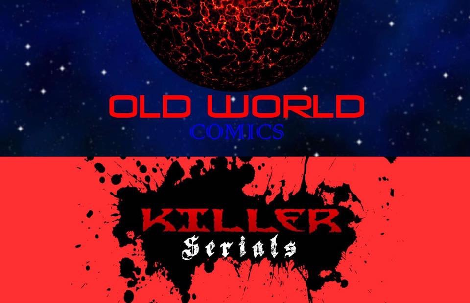 Old World Comics & Killer Serials - Old World Comics was founded by head writer, and creator, Todd Goodman. Old World Comics hosts such diverse comics such as the comedic superhero title, The Powers that Be! with artist Cory Butler, the supernatural thriller Empty Skull with Marcelo Briseno, and the slice-of-life graphic novel, The Book on Me with Briana Higgins.In January of 2016, Old World Comics opened a subsidiary Killer Serials, which features prose serialized stories such as the best-selling All Hallows Eve with illustrator Andrew Henry, The October Stories and POE: Between Reality, Imagination and Madness.You can find a link to their Facebook page in the comment section listed below and you can also check out their websites at www.oldworldcomics.com andwww.killerserials.weebly.com.