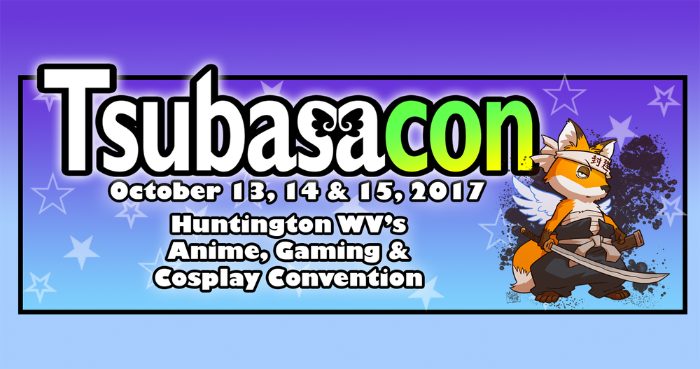 Tsubasacon - Tsubasacon is West Virginia's first and only anime, gaming and cosplay convention and Japanese culture festival, held annually Big Sandy Arena and Conference Center in Huntington, West Virginia.