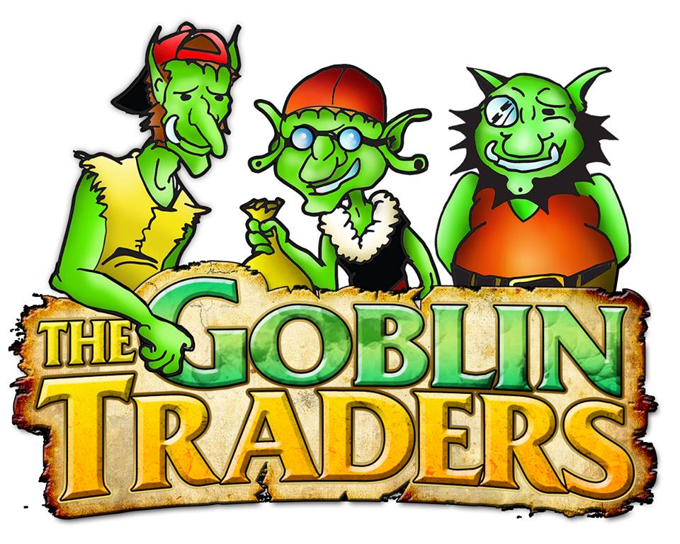 The Goblin Traders - The Goblin Traders are visiting us from Ironton, OH. They will be carrying games and gaming accessories, toys and other miscellaneous items of the nerdy variety.