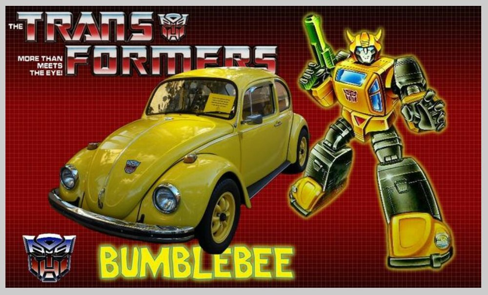Bumblebee Gen.1 - Joining us at Willcon will be a replica of a Classic 80's cartoon Character. Roll out to Willcon and check out this custom built Gen.1 Bumblebee, the Autobot Scout whose alternate mode is 1968 VW Beetle.