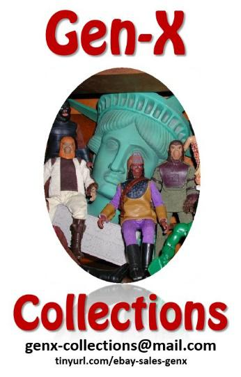 Gen X Collections - Gen-X Collections has been buying and selling toys from the 60s, 70s, 80s and beyond for over 25 years. Pick up your favorite collectibles from Star Wars, Star Trek, Ninja Turtles, MEGO, Super Powers, G.I. Joe, the Walking Dead, Marx Johnny West, Power Rangers, Bionic Man/Woman, He-Man, Pokémon, vintage video games, and more at our booth! Links:https://twitter.com/GenXCollectionshttp://tinyurl.com/ebay-sales-genx/ Contact:Monica Brooks304.690.1662GenX-Collections@mail.com