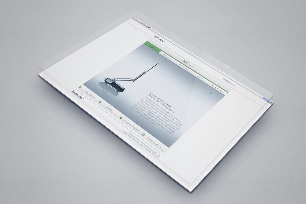 XEL-1 Website Landing Page