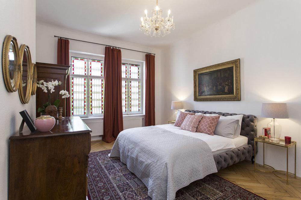 Bedroom in Mala Strana