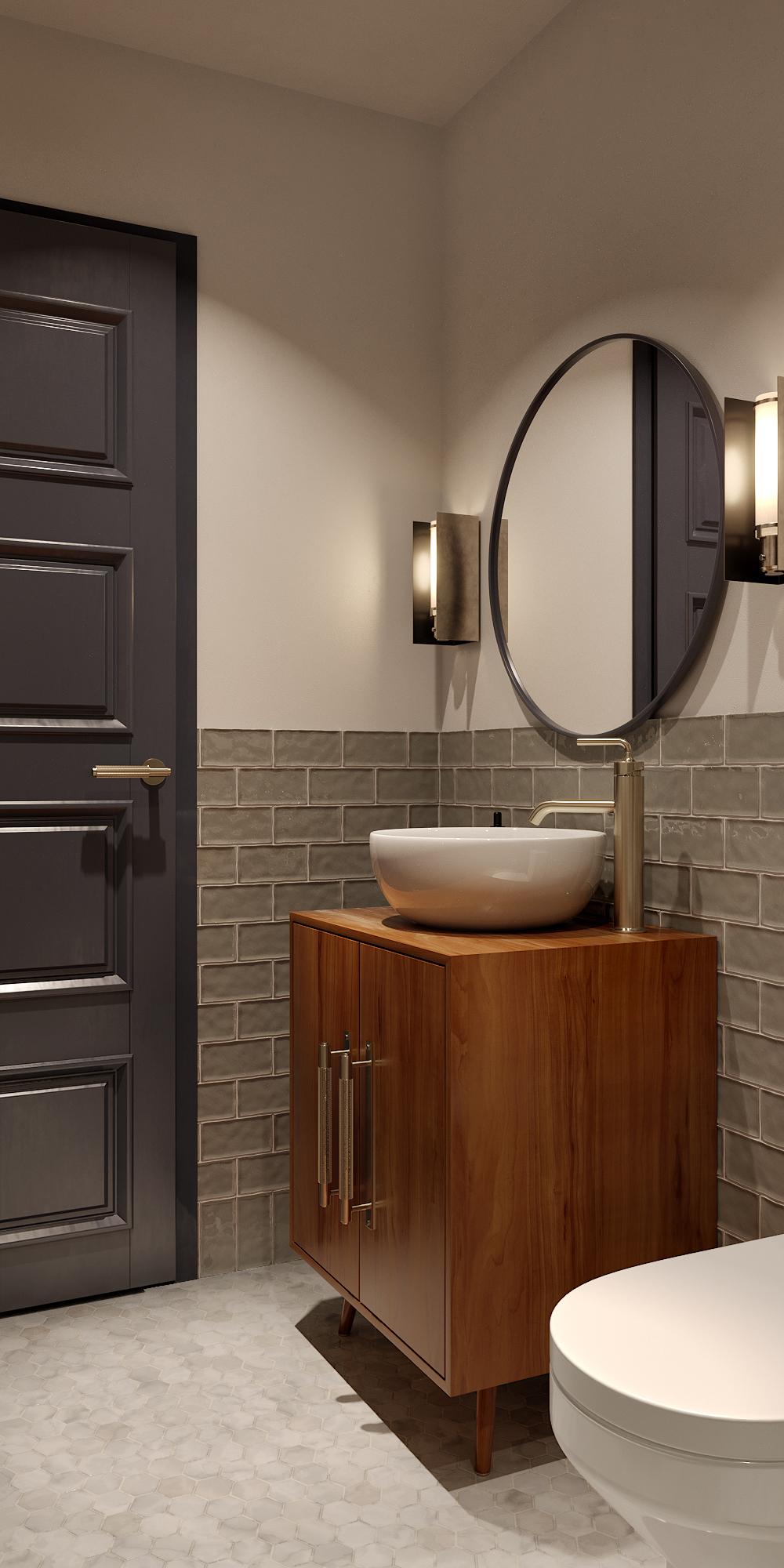 Bathroom in Mala Strana