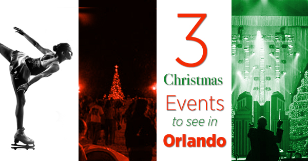 3 Christmas Events in Orlando