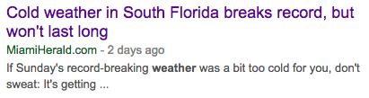 florida weather headline