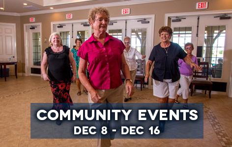 Community Events Dec 8