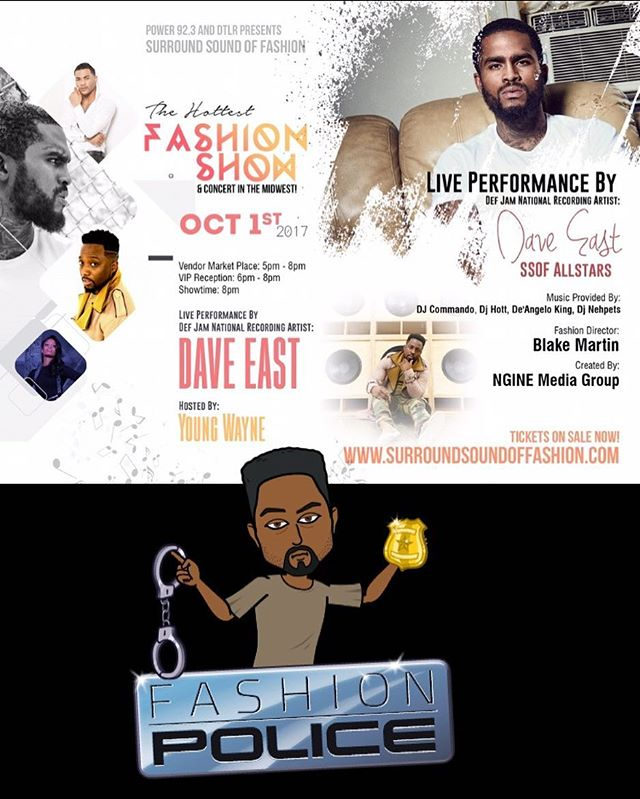 @ssofashion Chicago TONIGHT!!! @daveeast x Me x Models x Music... Fashion Motion Picture... I'll be your host! This should be fun!!! Few Tickets Left!!! #Fashion #Entertainment #Chicago #DaveEast #Music