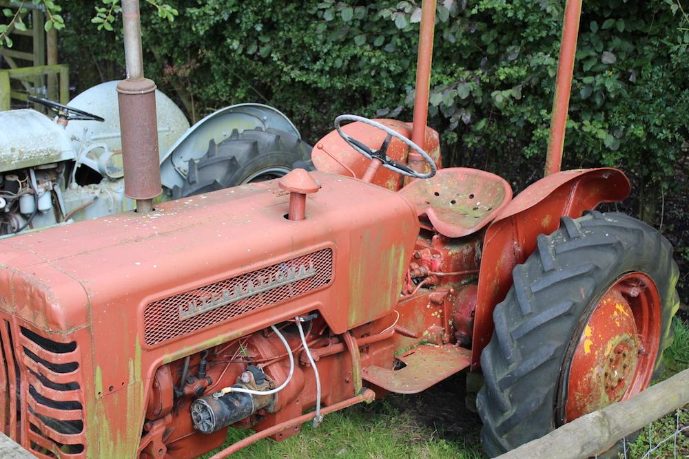 farm trail tractor