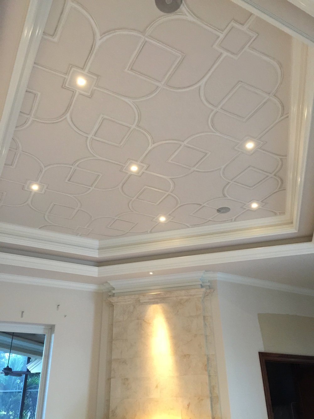 Trompe L'oeil Applied Ceiling Molding