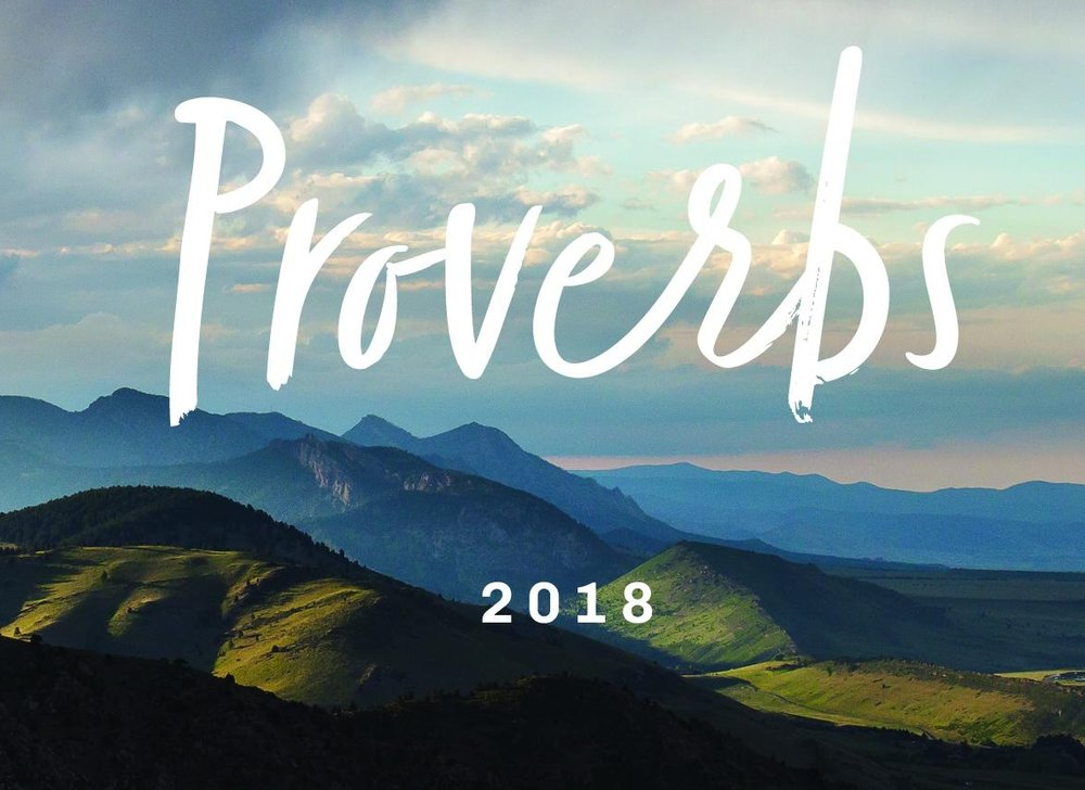 Proverbs-July 2018 Sermon Series