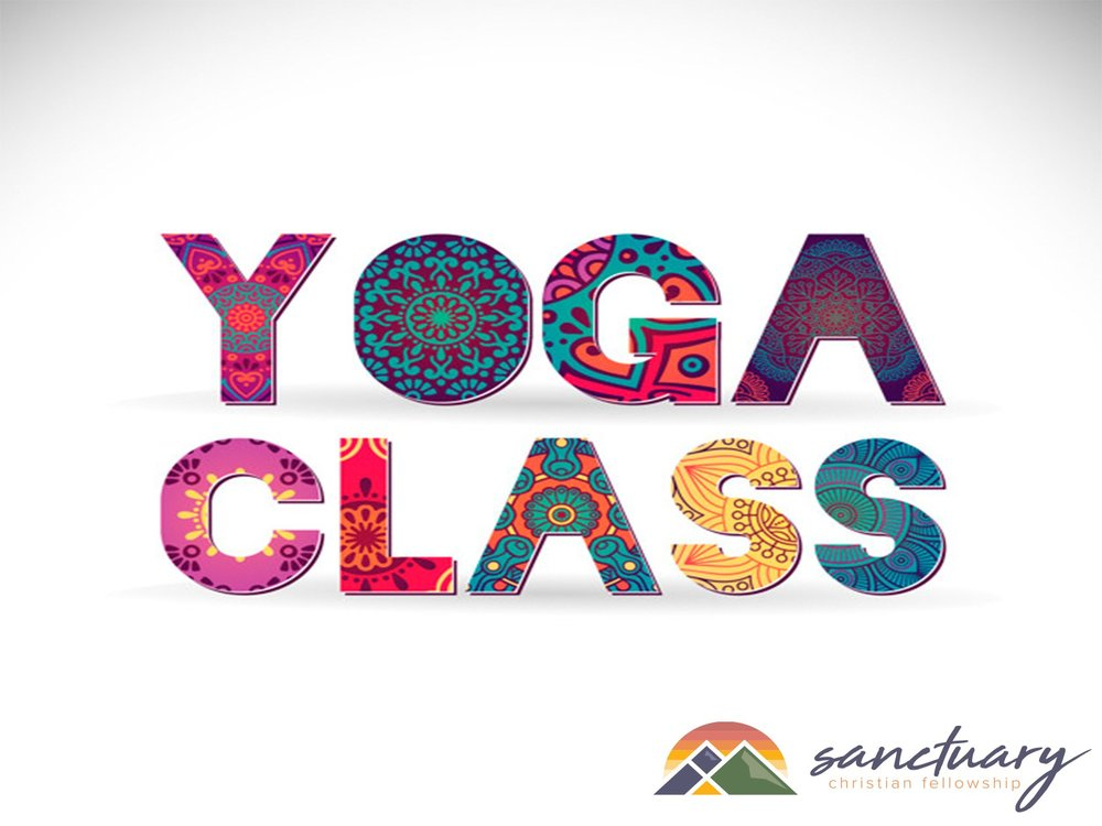 Free Women's Yoga at Sanctuary Christian Fellowship EVERY 2ND MONDAY of EVERY MONTH! Next class is Monday, March 11th, 7-8pm.