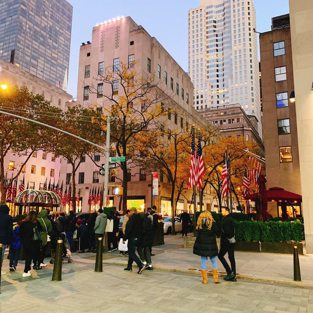 Rockefeller Center, New York, NY.