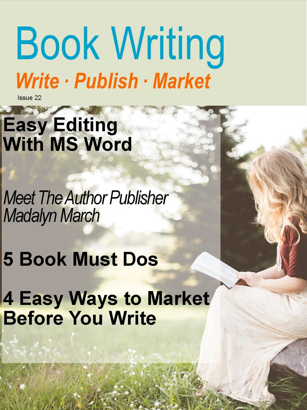 Book Writing Magazine – Book Writing