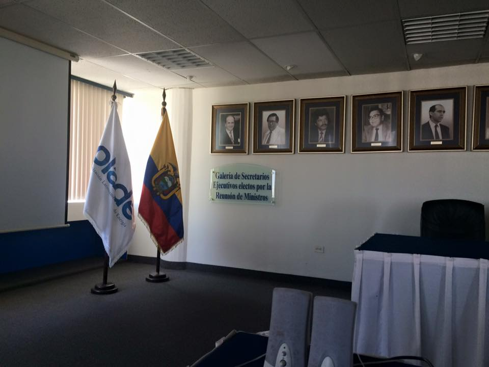 Climate policy  consultant , Latin American Energy Organisation (OLADE), Quito,  Ecuador
