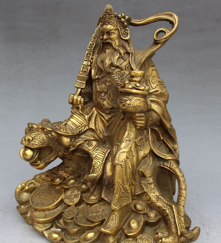 SUIRONG-607-9-Chinois-Folk-Bronze-D-quitation-tigre-Argent-Richesse-Yuanbao-Coin-Dieu-Mammon.jpg