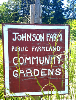 johnson farm sign photo