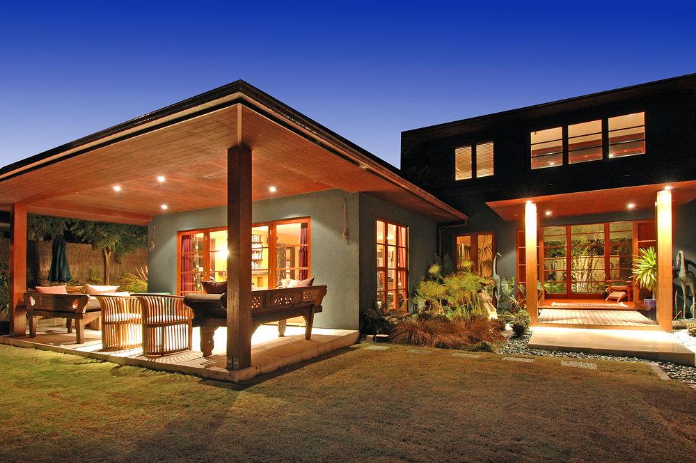residential modern balinese inspired design