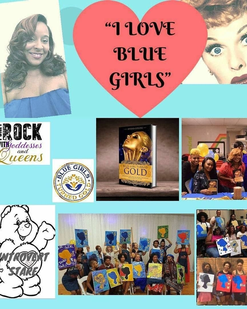 We love Blue Girls - Thank you for joining the movement! Your contribution serves as a resource and we thank you!