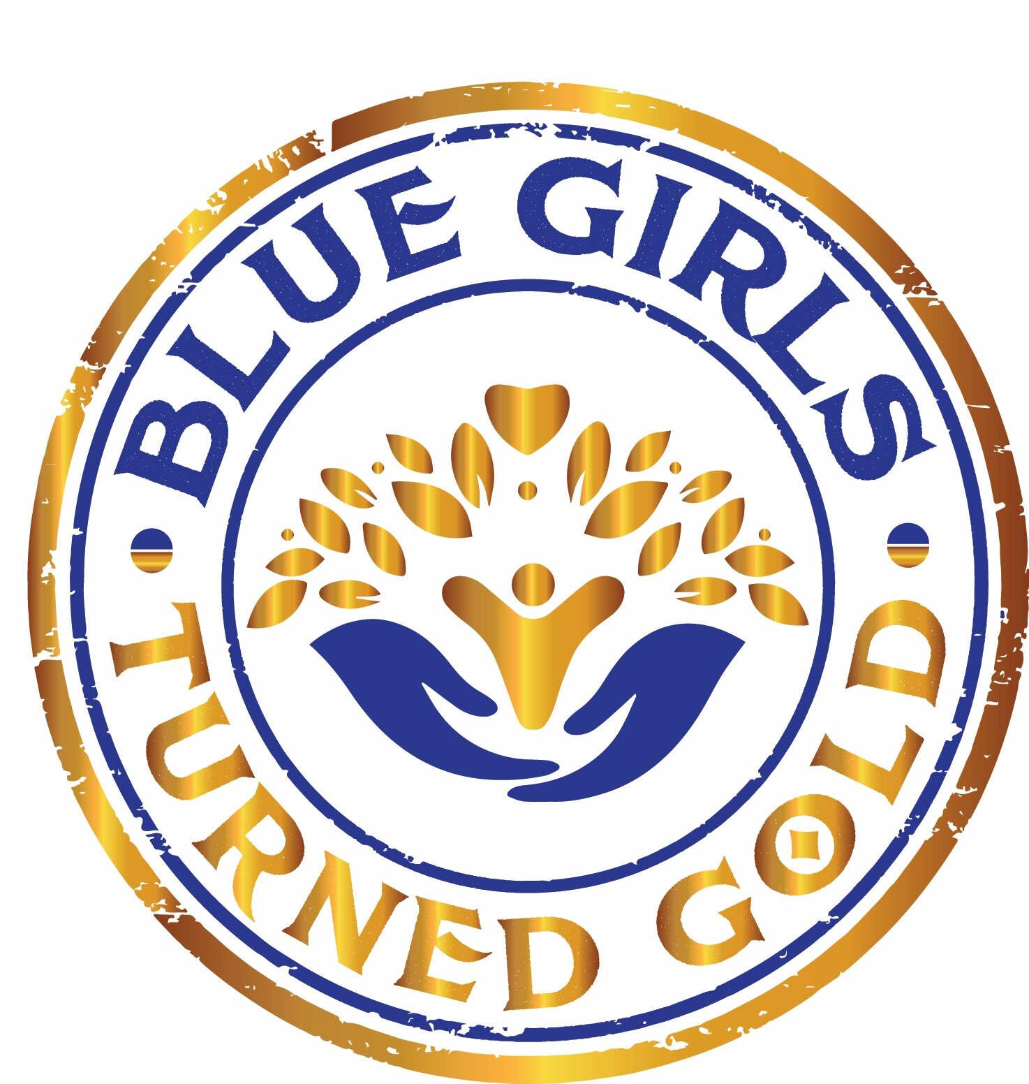 Blue Girls Turned Gold