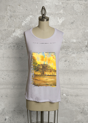 African Tree Sleeveless Knit Top.png