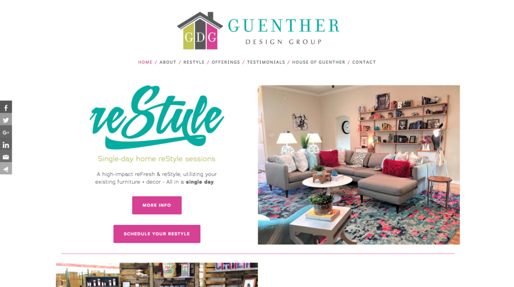INTERIOR DESIGNER View:    Guenther Design Group