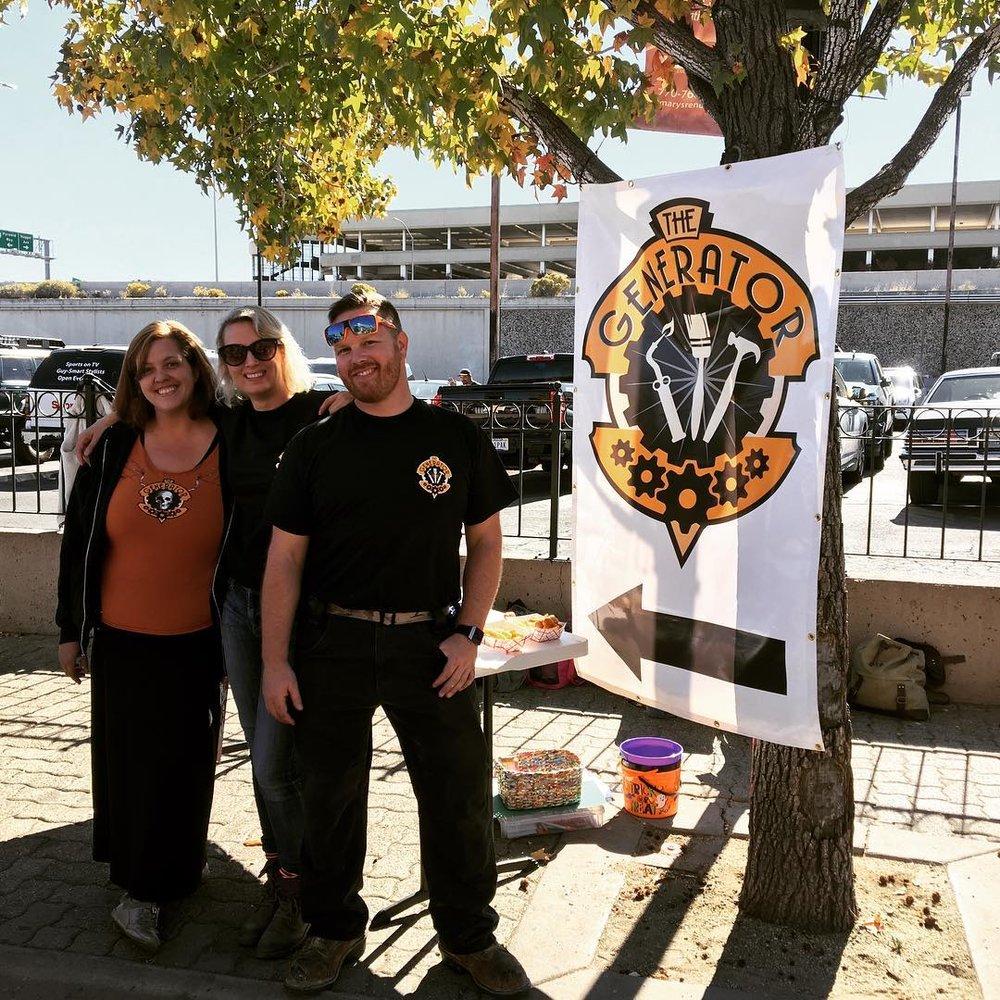 The Generator Team at Pumpkin Palooza.