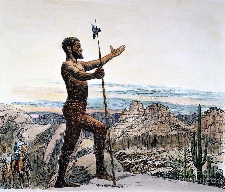 Depiction of Estevanico