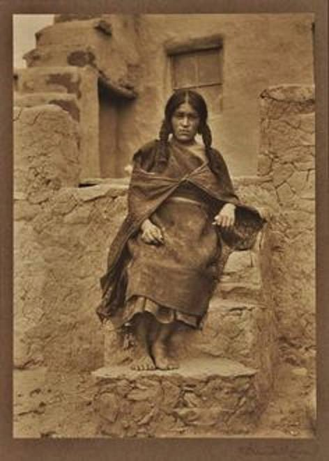 Lekyahonase at Oraibi Village 1890