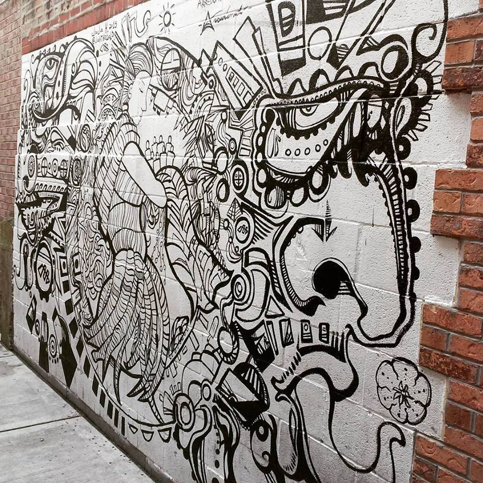 Mural collaboration with Juan Carlos Arredondo _ Jaja Gray harbeeliquors in Chicago IL.jpg