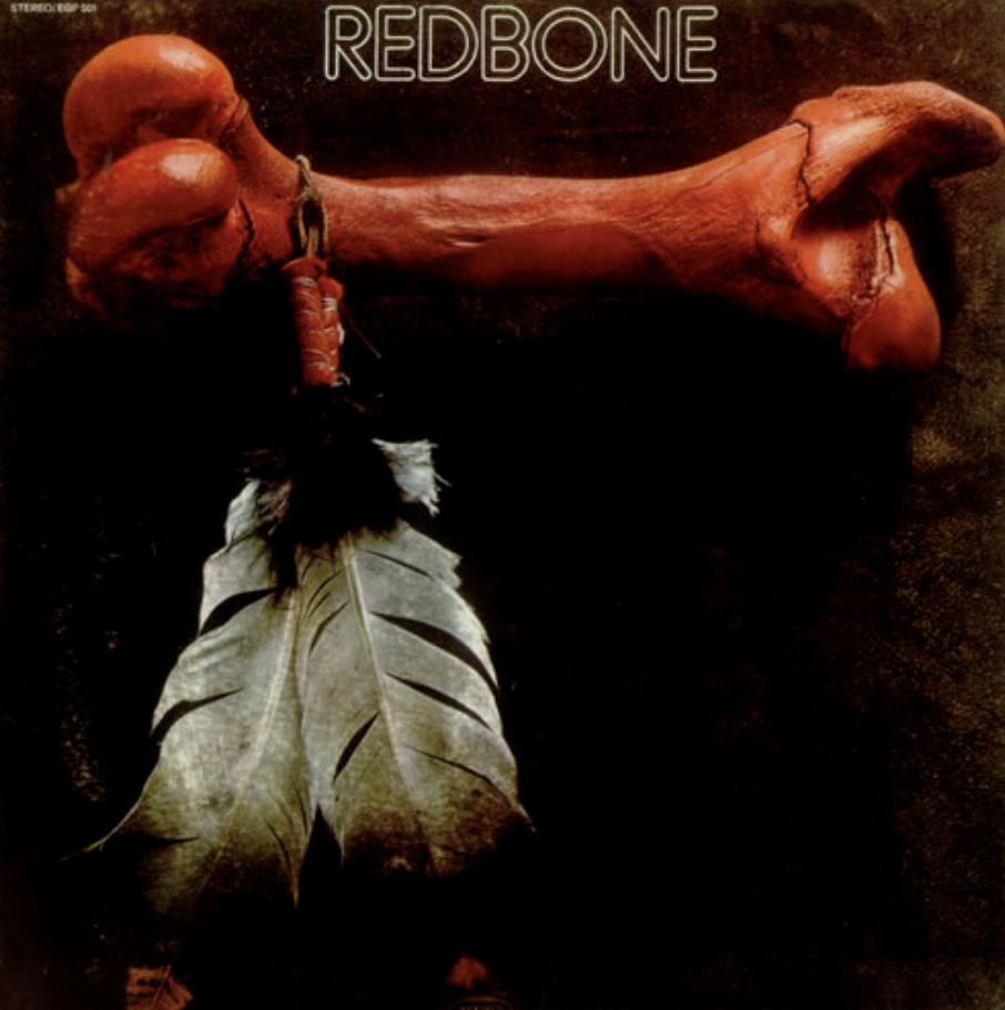 feather and bone redbone album cover