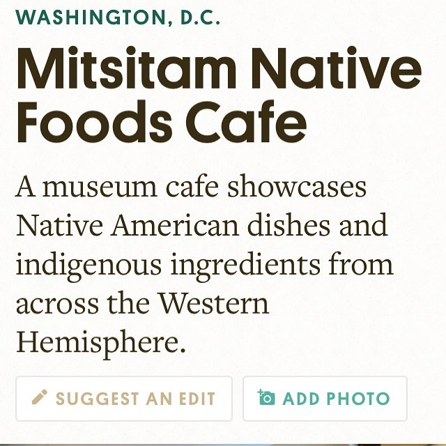 It ain't your mama's fry bread  https://americanindian.si.edu