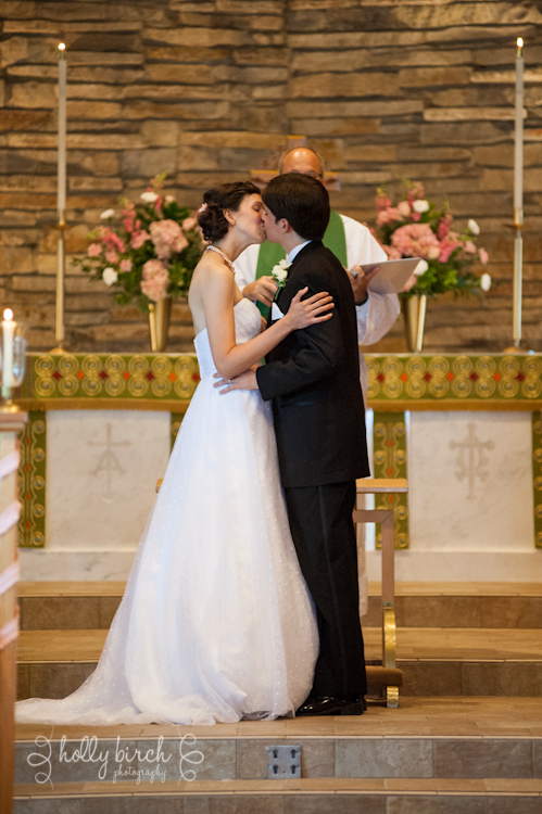 St. John's Lutheran First Kiss