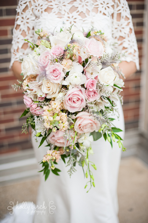 UI ARC wedding Blossom Basket bouquet