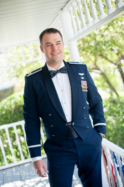 Air Force groom