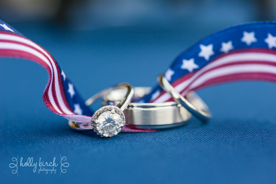 Patriotic rings